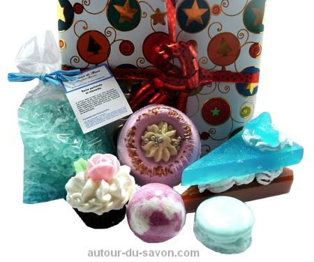 coffret cadeau bain relaxant id e cadeau femme autour du savon. Black Bedroom Furniture Sets. Home Design Ideas