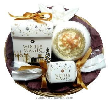 Corbeille de Bain Winter Magic